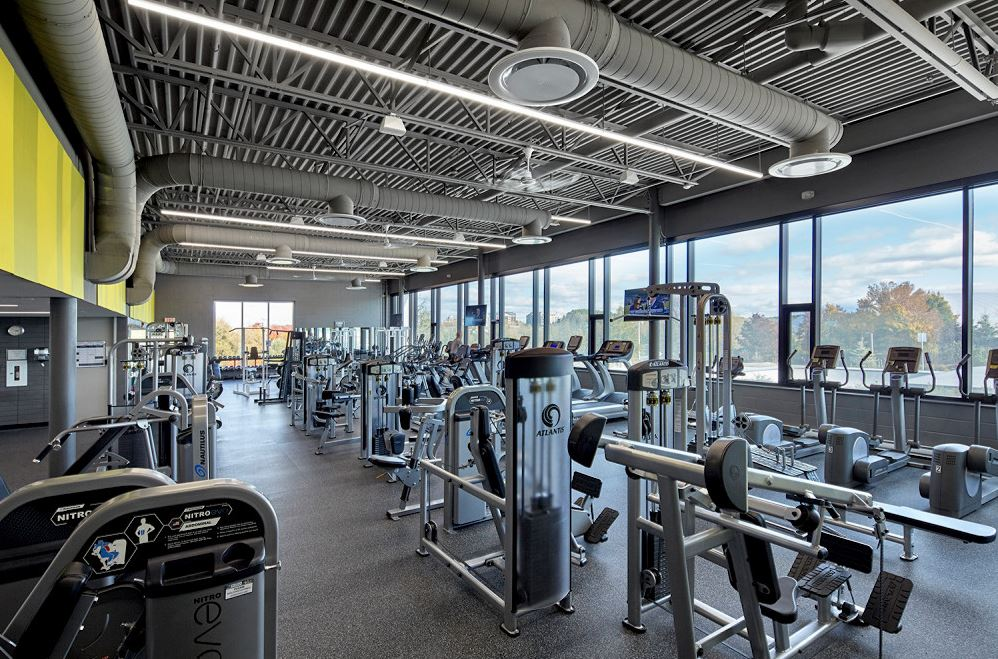 Image of club aurora fitness centre