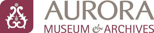Aurora museum and archives logo